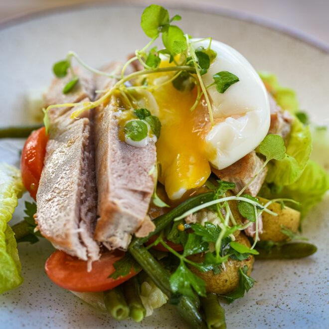 Salata nicejska z tunczykiem